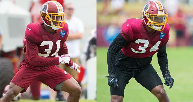 Returning from injury, Nicholson & Moreau provide a boost to #Redskins defense.  Read: https://t.co/V5eeX3xCqg https://t.co/uq15gC3CbA
