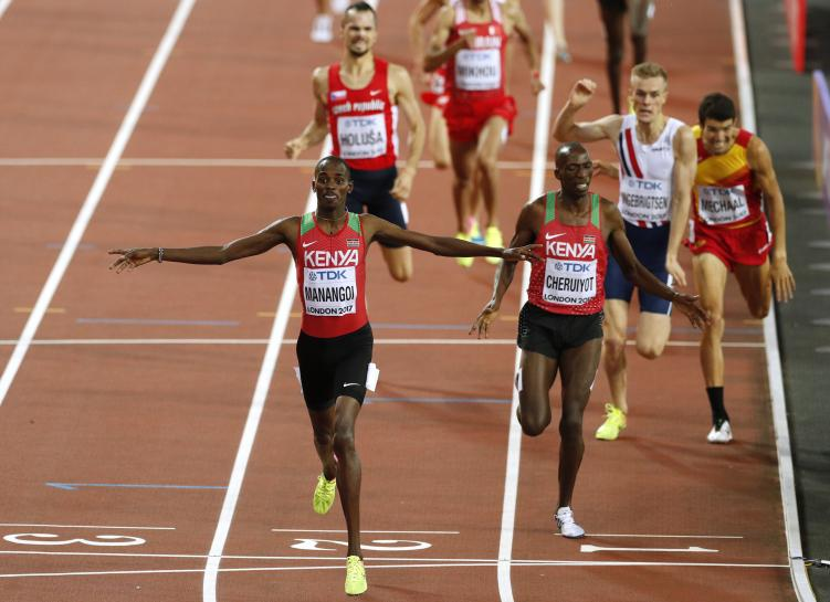 Manangoi brings 1,500m joy for Kenya as Kiprop flops