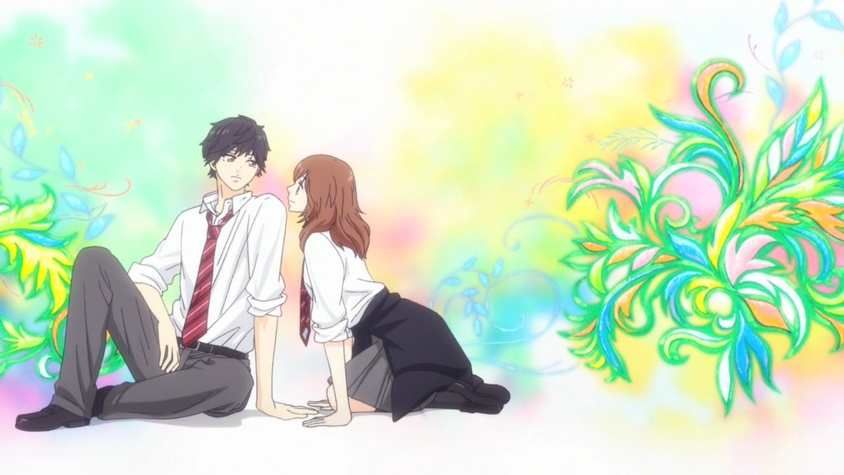ㅤAo Haru Ride→ アオハライド→ Comedy, Drama, Romance→ 12 episodes