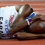 Oh Mo! British media gives silver medallist Farah a golden send-off after final race