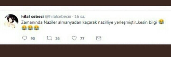 Hilal Cebeci'den