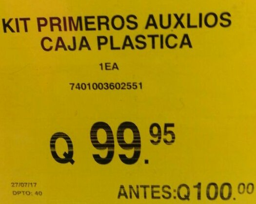 Menos mal... ahorro 0.05 centavitos. Jajaja #FelizDomingo #sóloenGuate https://t.co/dWDQhbEof3