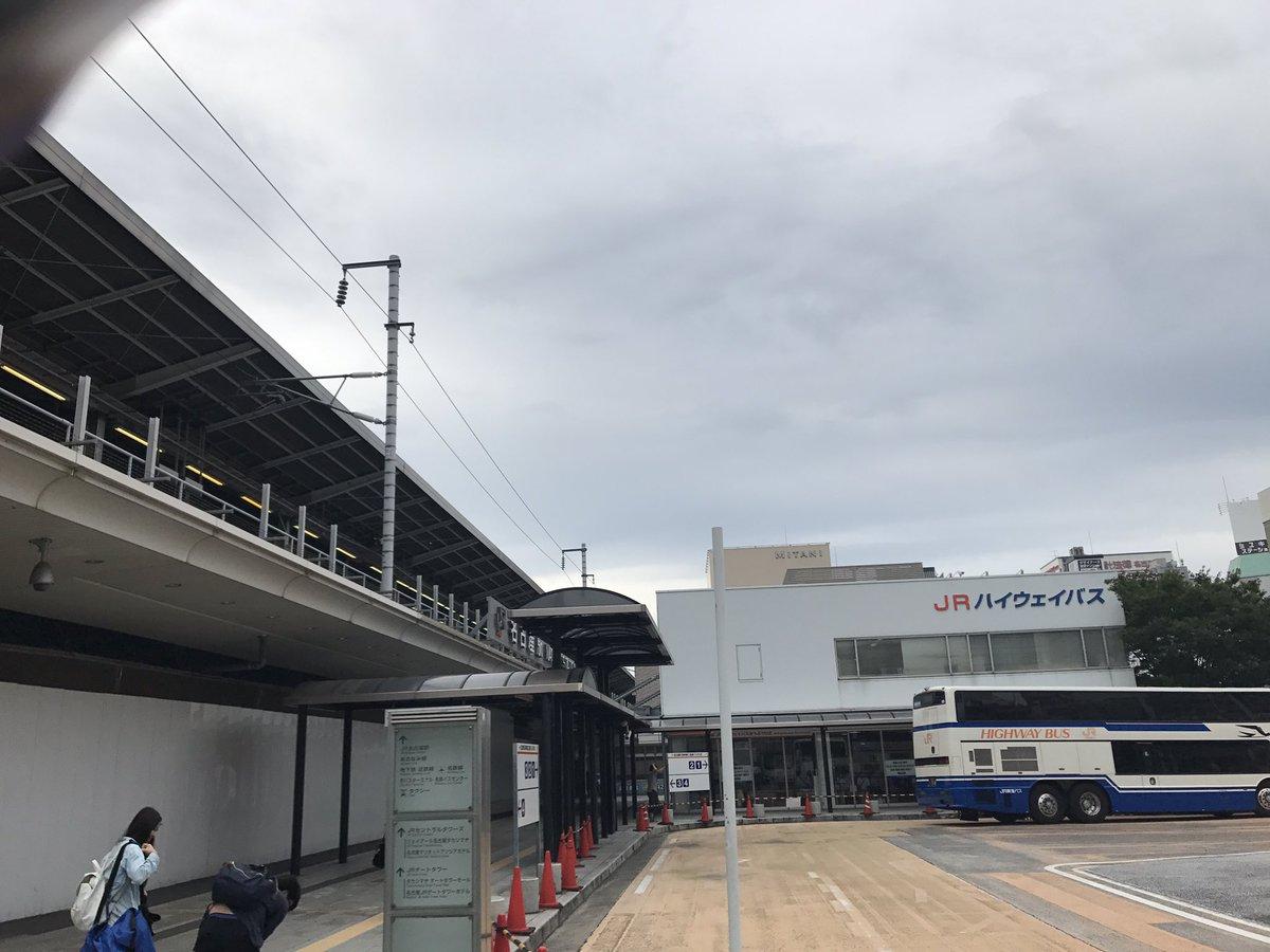 10日の朝以来の名古屋駅なう仙台2日間東京2日間おつかれさまでした。凛ちゃんほんと良かったし音霊は神宿も良かったし最高の