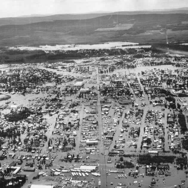 Remembering the historic Fairbanks flood of 1967