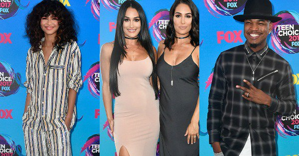 The stars are arriving: See what everyone is wearing to the 2017 Teen Choice Awards!