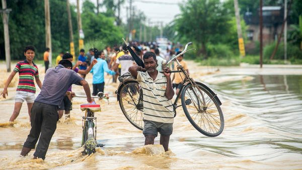 At least 47 dead in Nepal after heavy rain triggers floods and landslides