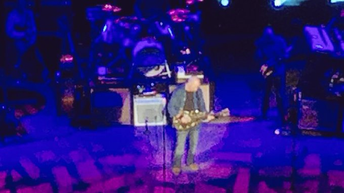 Happy birthday to my favorite guitarist, Mark Knopfler. Was lucky enough to see him live a little while back.