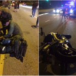 2 NSFs praised for tending to injured motorcyclist in Mandai Road accident