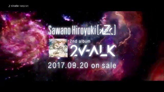 \澤野弘之ボーカルプロジェクト/2ndアルバム「2V-ALK」が9/20発売!Aimerが歌う「甲鉄城のカバネリ 総集編