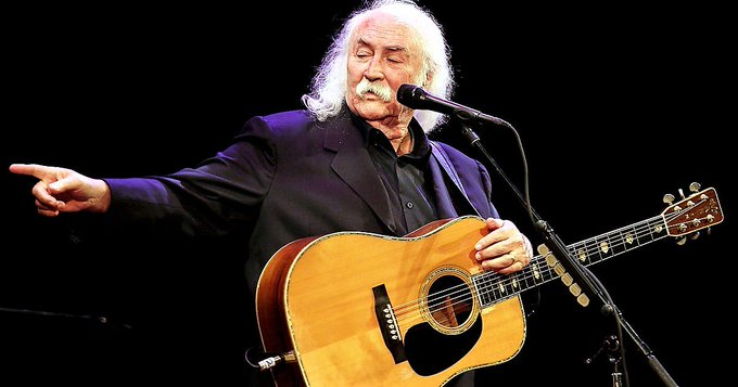 Happy 76th birthday David Crosby! \Deja Vu\