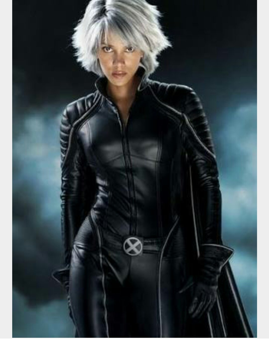 Halle Berry. Your birthday? Happy Birthday! Storm. Her performance is wonderful!