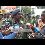 Nairobi Police Commander Koome warns people causing fear on social media