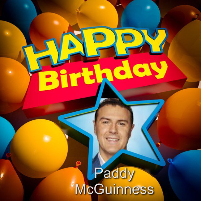 Happy Birthday Paddy McGuinness, Nick Grimshaw, Steve Martin, James Buckley & Danielle Steel