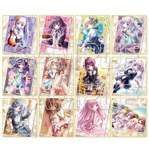 【予約】まったく、小学生は最高だぜ!!『天使の3P!』&『ロウきゅーぶ!』トレーディングミニ色紙 コンプリートBOX #