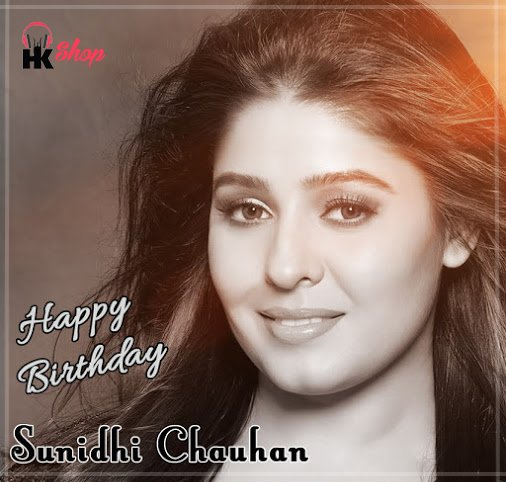 Wishing the rockstar of Bollywood,  Sunidhi Chauhan a very Happy Birthday!