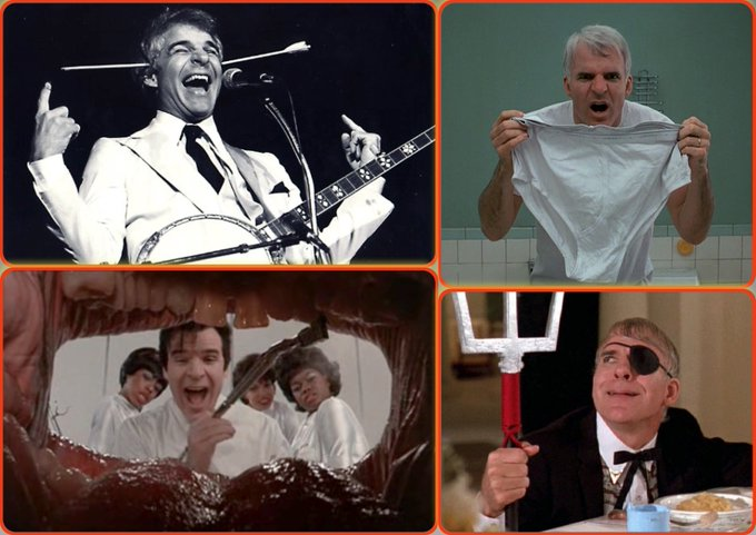 "Happy Birthday Steve Martin, 72! ""All I\ve ever wanted was an honest week\s pay for an honest day\s work.\"""