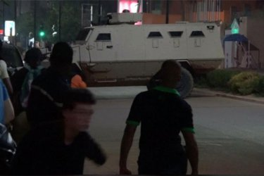 People trapped as gunmen kill 17 at a restaurant in Burkina Faso