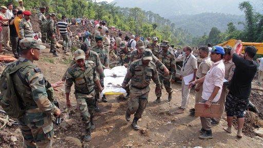Monsoon flooding kills at least 160 across South Asia