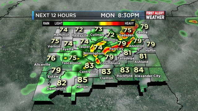 FIRST ALERT: Isolated Flash Flooding is possible today and tonight