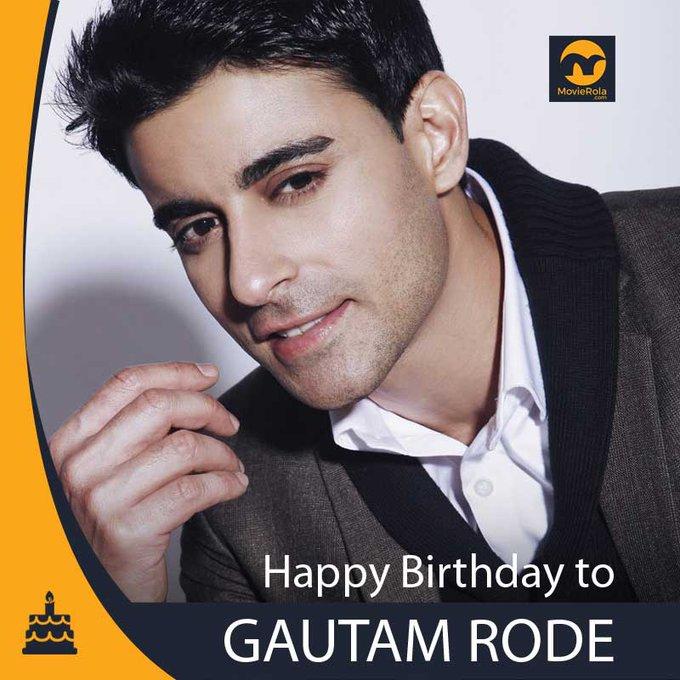 Happy Birthday to Gautam Rode.