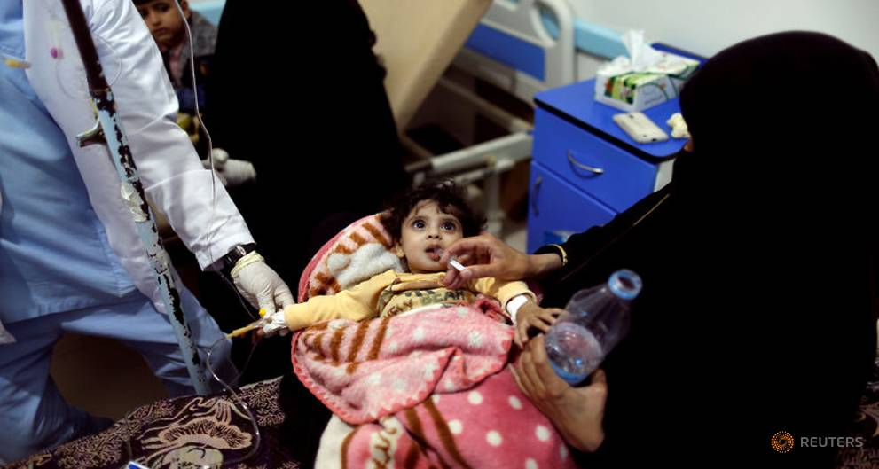 Yemen records 500,000 cholera cases, nearly 2,000 deaths: WHO