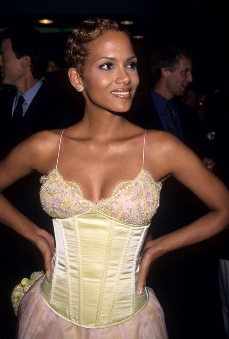 We see you, Happy birthday, queen...   21 Stunning Photos of Halle Berry -->
