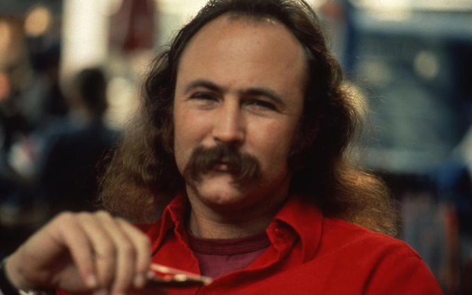 Happy 76th Birthday to the great David Crosby!