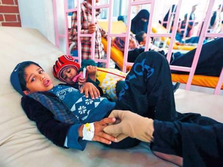 Cholera count reaches half a million in Yemen