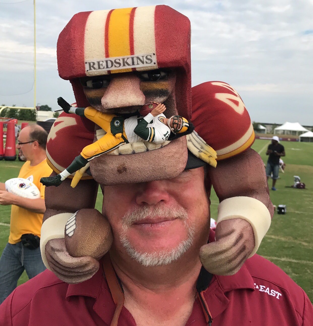 This guy is ready for #GBvsWAS. https://t.co/nU2SXGDOjA
