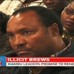 Newly elected Kiambu leaders promise to renew fight against illicit brews
