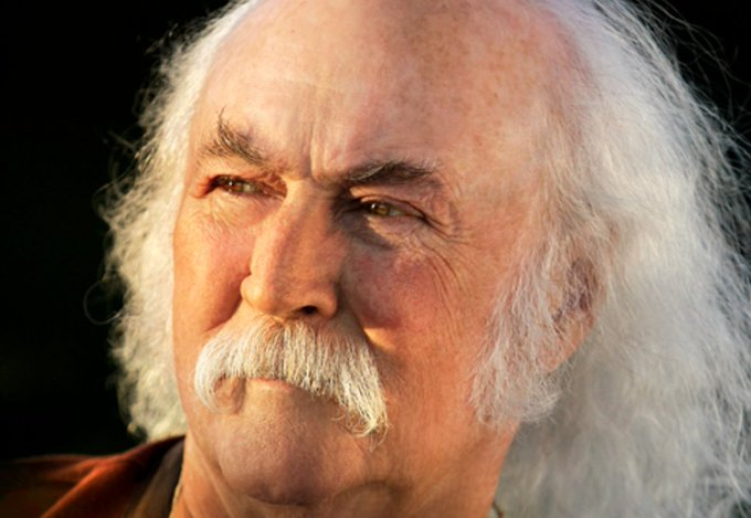 Happy 76th Birthday to David Crosby!