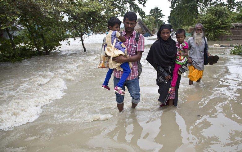 Monsoon flooding kills at least 173 across South Asia