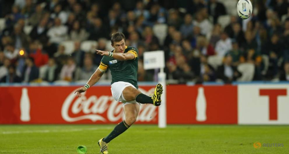 Rugby - Bok flyhalf Pollard to miss Argentina test