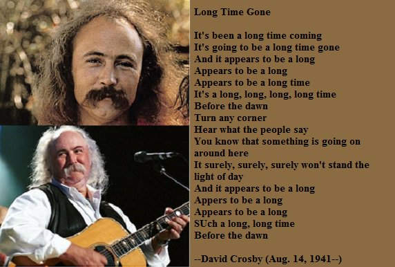 Happy birthday, David Crosby!