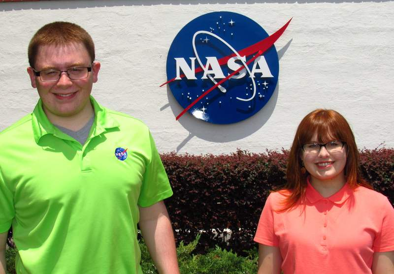 Brother, sister spend summer at NASA   Schools   Journal Gazette