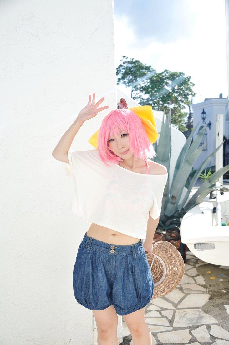 【コスプレ写真】神のみぞ知るゼカイ/中川かのん最近、久々にかのんちゃんのアルバムをひっぱり出して聞いてるけど、改めて好き