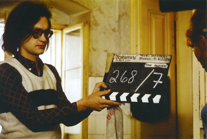 Wishing Wim Wenders a very happy 72nd birthday!