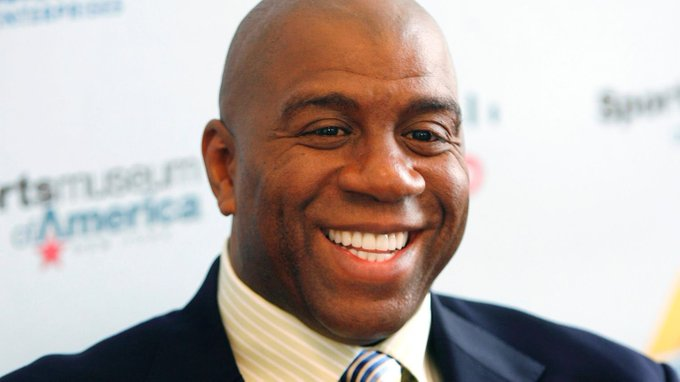 "Happy Birthday to basketball legend, Earvin \""Magic\"" Johnson!"