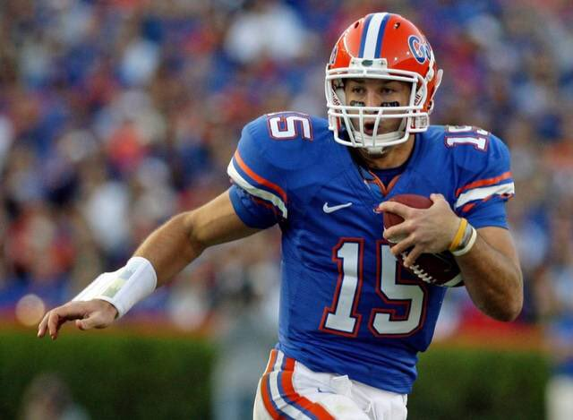 Happy 30th Birthday Tim Tebow!   Go Gators!