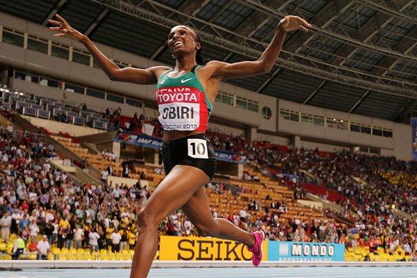 Kenya finishes 2nd in London athletics