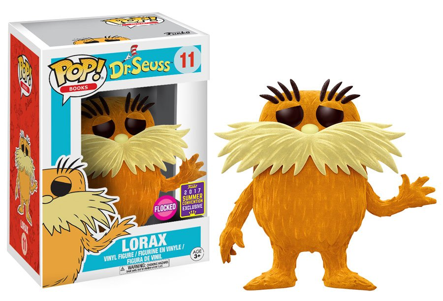 RT @OriginalFunko: RT & follow @OriginalFunko for the chance to win an #SDCC 2017 exclusive flocked Lorax Pop! https://t.co/JSLZnBO4Cg