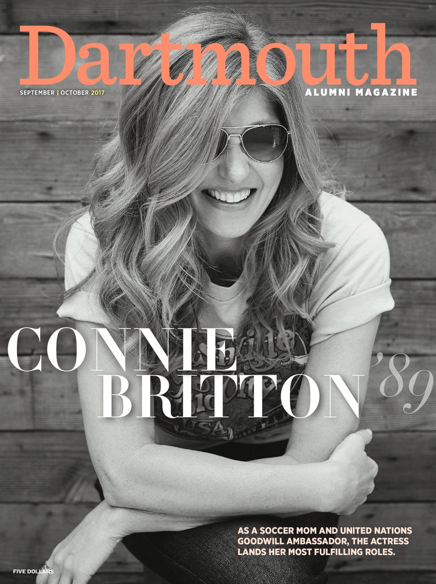 RT @DartmouthMag: Here's a sneak peek of our September/October issue, coming your way soon. @dartmouth @dartmouthalumni @conniebritton http…