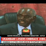 Ukambani election losers resolve to support government