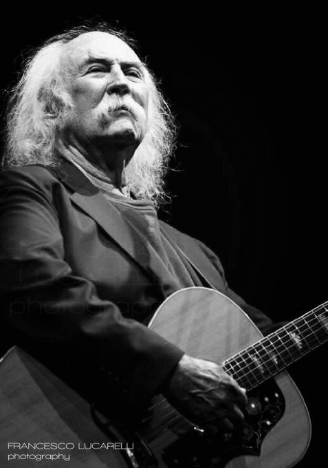 Happy Birthday to the one and only David Crosby!