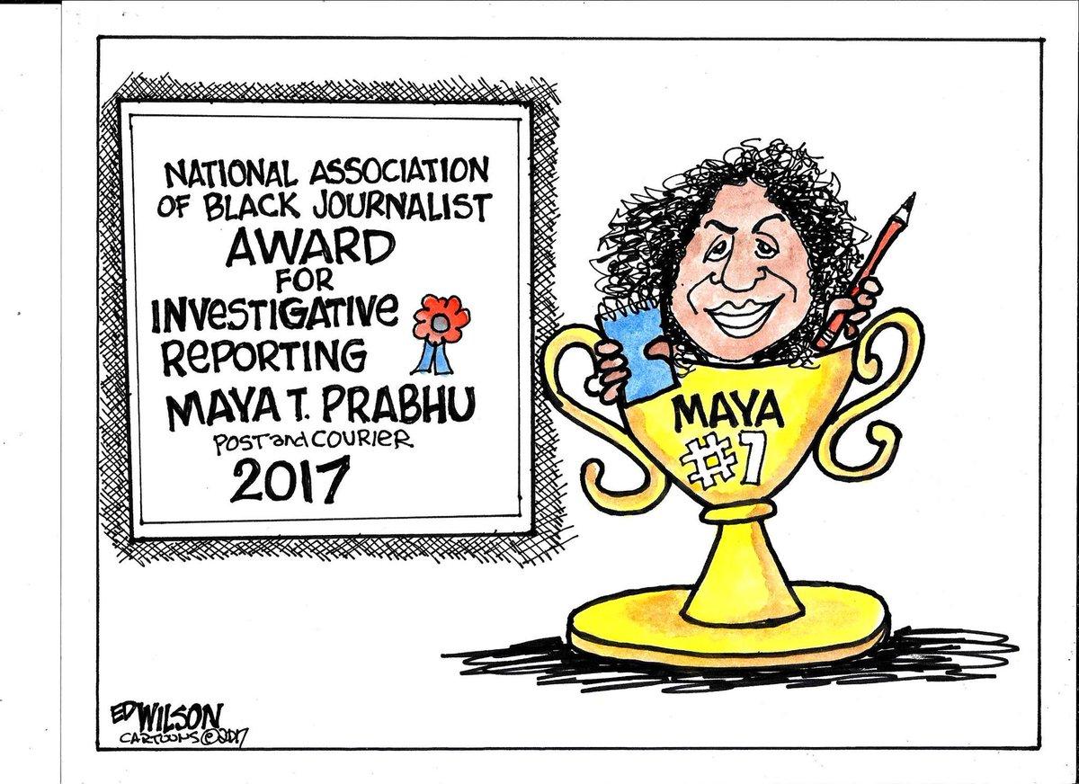 RT @MayaTPrabhu: Aww. How sweet is this!? Thanks, @EdwilsonCartoon! #nabj17 #nabjste17 💙💙💙 https://t.co/YPoqwTyEgo
