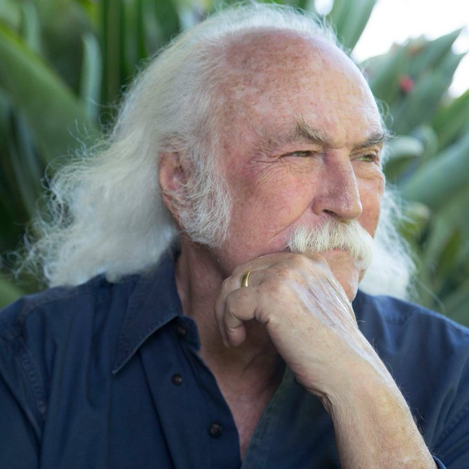 """Feel, Like I\ve been here before\"" Happy Birthday David Crosby!"