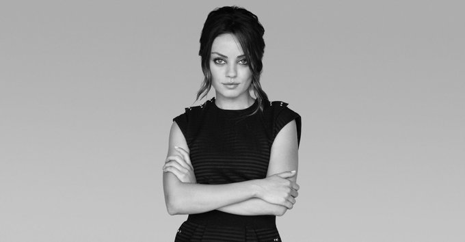 Happy 34th Birthday to Mila Kunis!