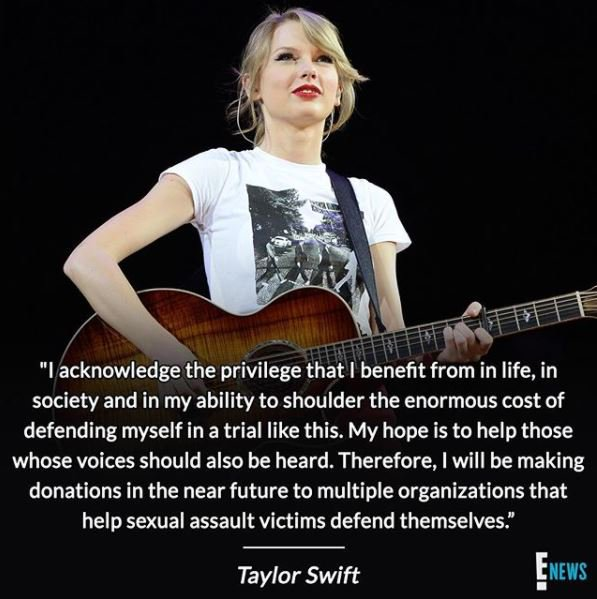 Taylor Swift releases a statement after her groping trial victory: