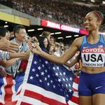 US sprinter Allyson Felix breaks Usain Bolt's record for most medals won in IAAF WorldChampionships