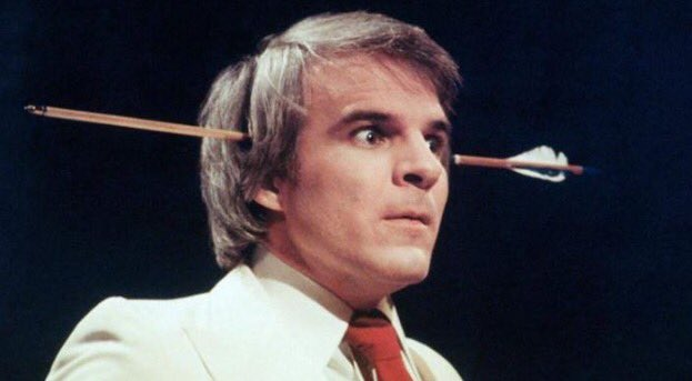Happy 72nd birthday to Mr. Steve Martin.